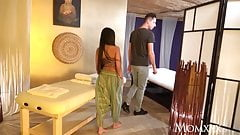 Thai massage and passionate wild sex with horny Asian MILF